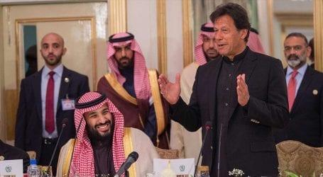 پاکستان کی اولین ترجیح سعودی عرب سے بہترین تعلقات ہیں۔ عمران خان