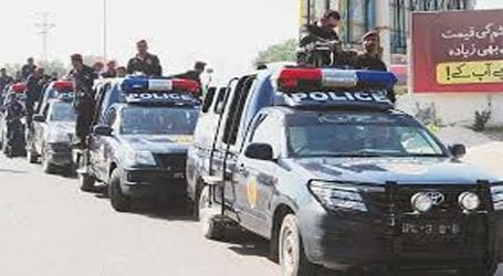کراچی، پولیس کا زمان ٹائون اور لانڈھی کے علاقے میں سرچ آپریشن