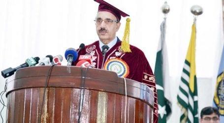 نوجوان وطن عزیز کیلئے سیاسی ، سفارتی اور عسکری جنگ لڑنے کی تیاری کریں، صدر آزاد کشمیر