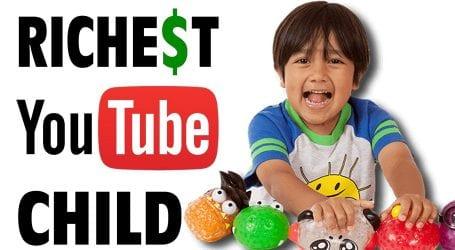 2019 میں یوٹیوب پر کمائی میں آٹھ سالہ امریکی بچہ سب سے آگے