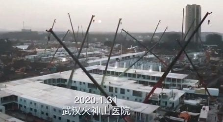 کورونا وائرس: چین میں 1000 بستروں کا ہسپتال 5 فروری سے کام شروع کرے گا