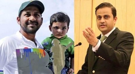 کپتان سرفراز احمد کے بیٹے کی ویڈیو پر مرتضیٰ وہاب کا تعریفی ٹوئٹر پیغام