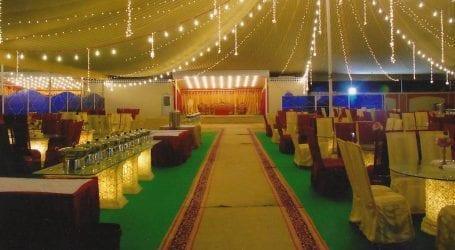 سندھ بلڈنگ کنٹرول اتھارٹی نے385 غیر قانونی شادی ہالز کی فہرست تیار کر لی