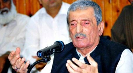 عوامی نیشنل پارٹی کے رہنماء غلام احمد بلور کورونا وائرس کو شکست دینے میںکامیاب