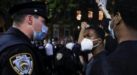 سیاہ فام شخص کی ہلاکت پر پورے امریکا میں مظاہرے پھوٹ پڑے