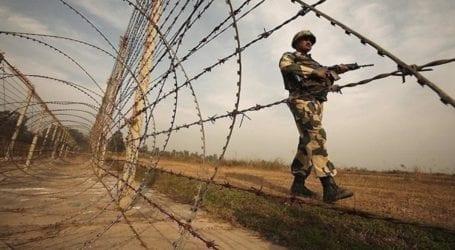 کنٹرول لائن پر بھارتی فوجیوں کی بلا اشتعال فائرنگ سے ایک پاکستانی شہری زخمی