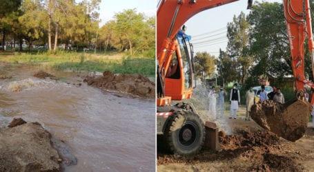 راولپنڈی کو صاف پانی فراہم کرنیوالی لائن سے پانی چوری کیے جانے کا انکشاف
