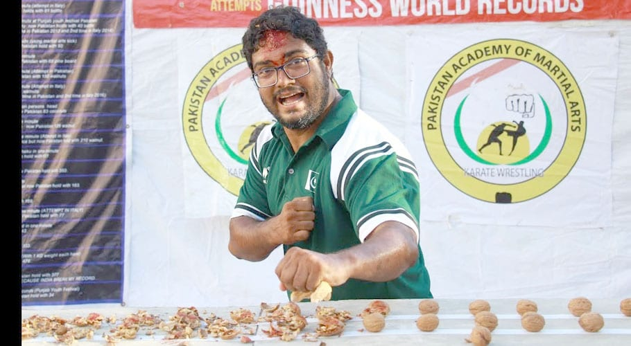 Pakistan's Rashid Naseem receives Guinness World Record certificates