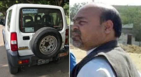 کے ایم سی، محکمہ باغات کا مالی افسر بن بیٹھا،سرکاری گاڑی کا بے دریغ استعمال