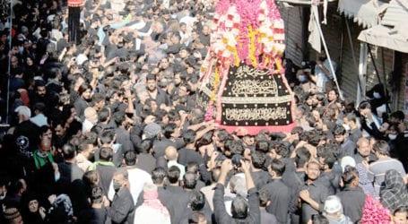 تصویرتجزیہ: ملک بھر میں چہلم امام حسین ؓکے جلوس