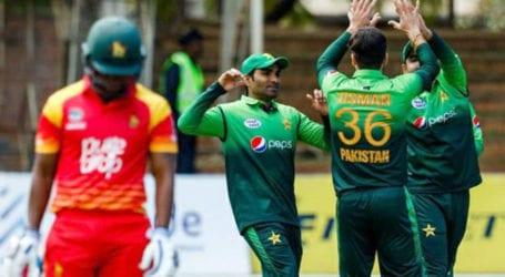 پاکستان نے زمبابوے کو دوسرے میچ میں شکست دیکر فیصلہ کن برتری حاصل کرلی