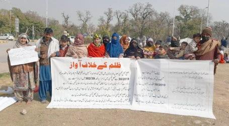بلوچستان میں بااثر وڈیرے کے ظلم کا شکار خاندان انصاف مانگنے اسلام آباد پہنچ گیا