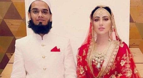 خوبصورت بیوی وہ ہے جو جنت کے قریب لائے۔مفتی انس اور ثناء خان کی نئی تصویر وائرل