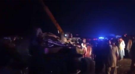 لسبیلہ آر سی ڈی ہائی وے پر مسافر کوچ الٹ گئی، خواتین اور بچوں سمیت 14 افراد جاں بحق