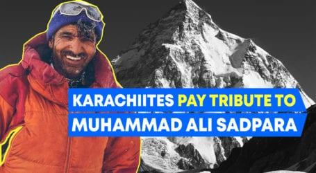 """شہر قائد:ٹرک آرٹ کے ذریعے""""محمد علی سدپارہ""""کو شاندار خراج عقیدت پیش کیا گیا"""