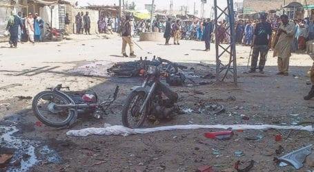 چمن میں لیویز جیل کے قریب بم دھماکہ، 3افراد جاں بحق، 13زخمی
