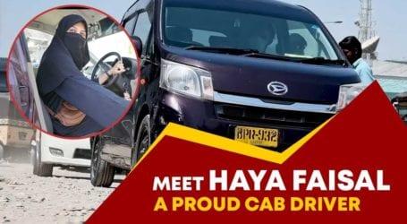 کراچی کی باہمت حیا فیصل نے کیب ڈرائیور بن کرخواتین کیلئے مثال قائم کردی