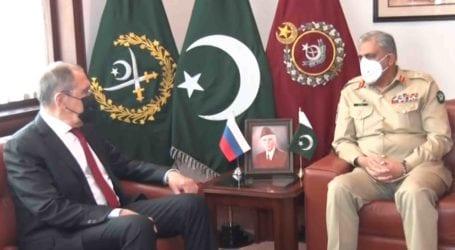 پاکستان خطے میں امن کیلئے ہر کوشش کا خیر مقدم کرتا ہے، آرمی چیف
