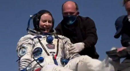 ایک خاتون سمیت ناسا کے 3 خلاء باز 185 دن اسپیس اسٹیشن میں گزار کر زمین پر لوٹ آئے