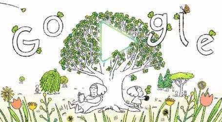 ماحولیاتی مسائل پر شعور اجاگر کرنے کیلئے زمین کا 51 واں عالمی دن، گوگل کا ڈوڈل تبدیل