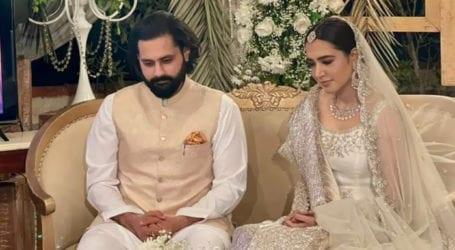 منشا پاشا اور جبران ناصر رشتہ ازدواج میں منسلک ہوگئے