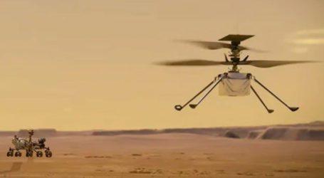 ناسا نے مریخ پر ہیلی کاپٹر کی دوسری کامیاب پرواز کی ویڈیو جاری کردی