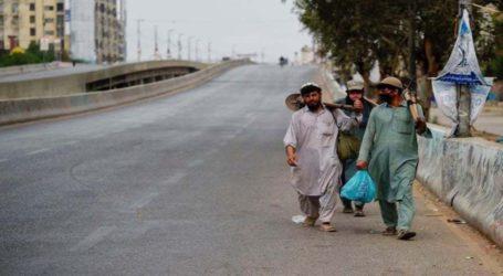ملک بھر میں لاک ڈاؤن کی پابندیاں سخت، سندھ میں پبلک ٹرانسپورٹ آج سے بند