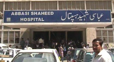 خود ساختہ صحافیوں نےعباسی شہید اسپتال کی انتظامیہ کو ظالم اور سنگدل قرار دے دیا