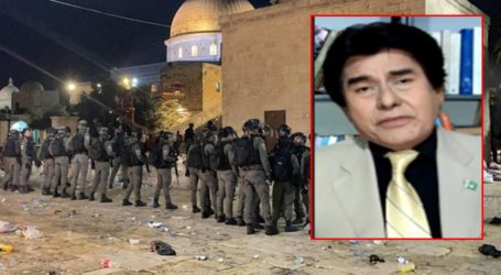 اسرائیل نے فلسطین پربڑے حملوںکی تیاری کرلی ہے،ڈاکٹرجمیل احمد خان