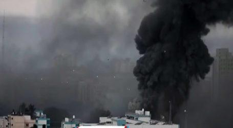اسرائیل کی وحشیانہ بمباری سے 2کثیرالمنزلہ عمارتیں تباہ، شہادتیں 69ہوگئیں