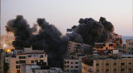 فلسطین کا جوابی وار، راکٹوںکی برسات، اسرائیل میںتباہی مچ گئی