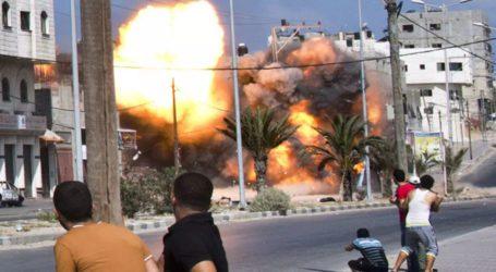 اسرائیلی بربریت جاری، غزہ پر فضائی حملے میں 3بچوں سمیت 9فلسطینی شہید