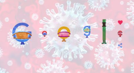 کورونا وائرس سے بچاؤاورآگاہی کیلئے گوگل کے ڈوڈل نے بھی ماسک پہن لیا