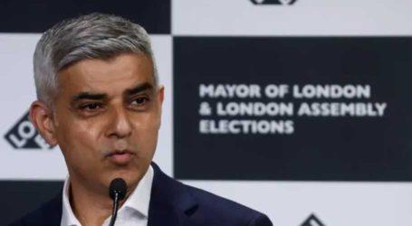 پاکستانی نژادصادق خان مخالف امیدوار کو شکست دے کر ایک بار پھر لندن کے میئر منتخب