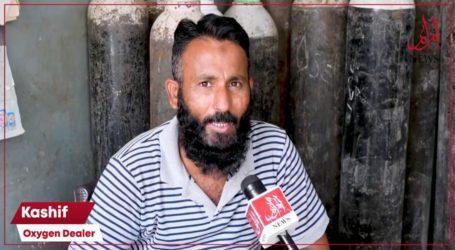 کراچی، کورونا وائرس سے متاثرہ مستحق مریضوں کیلئے آکسیجن مفت دستیاب