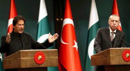 پاک ترک قیادت کا مسئلۂ فلسطین عالمی سطح پر اٹھانے کیلئے مشترکہ کاوشوں پر اتفاق