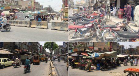 راولپنڈی میںلاک ڈاؤن ناکام، بازار کھل گئے،اشیاء مہنگے داموں فروخت