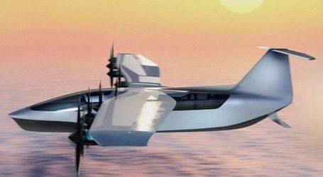 180کلومیٹر فی گھنٹہ کی رفتار سے چلنے اور اڑنے والا سی گلائیڈر