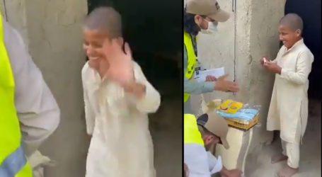 عید کی حقیقی خوشی، غریب بچے کی ویڈیو نے سوشل میڈیا پر دھوم مچادی