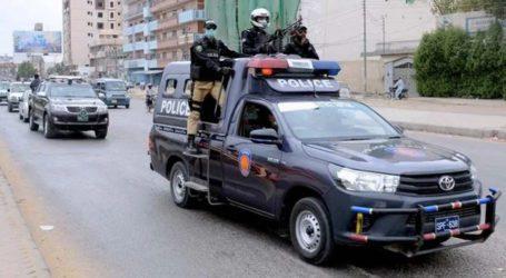 لیاقت آباد پولیس نے بم بردار تین بھتہ خورڈکیت گرفتار کرلئے