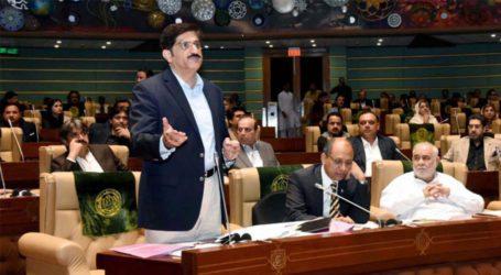 وزیرِ اعلیٰ مراد علی شاہ سندھ کا 14 کھرب سے زائد کا بجٹ آج پیش کریں گے