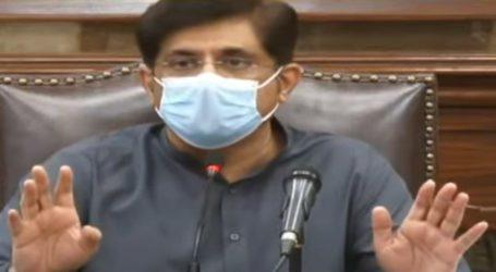 سندھ میں کورونا وائرس سے متاثرہ مزید 759 کیسز رپورٹ ہوئے ہیں، مراد علی شاہ