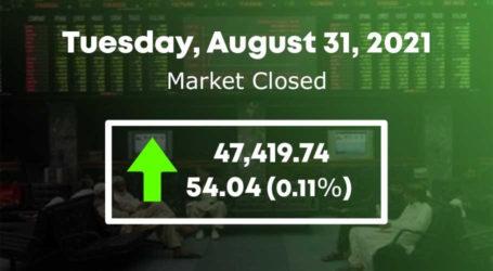 اسٹاک مارکیٹ میں 54 پوائنٹس کا اضافہ،47ہزار419 پر بند