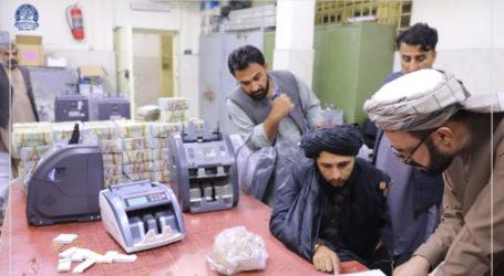طالبان نے سابق حکمرانوں سے برآمد 1کروڑ 20 لاکھ ڈالرز مرکزی بینک میں جمع کرا دیے