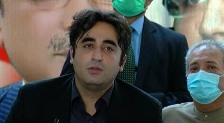 جب حکومت کے حساب کا وقت ہوگا تو عمران خان اکیلا رہ جائے گا، بلاول