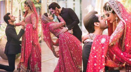 منال خان اوراحسن محسن اکرام کی شادی کی رنگا رنگ تقریب کی تصویری جھلکیاں