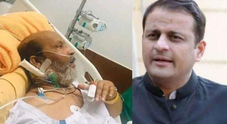 عمر شریف کو لینے ایئر ایمبولینس جمعہ کو کراچی پہنچ جائیگی، مرتضیٰ وہاب