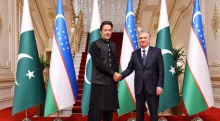 وزیر اعظم عمران خان کی ازبک صدر سے ملاقات، تجارتی تعلقات کے فروغ پر اتفاق