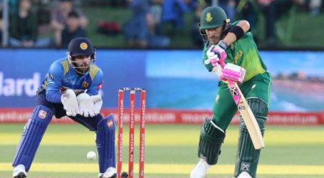سری لنکا اور جنوبی افریقہ کے درمیان تیسرا ٹی 20 میچ منگل کو کھیلا جائیگا