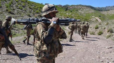 جنوبی وزیرستان، دہشت گردوں سے جھڑپ،فورسز کے 7جوان شہید، 5دہشتگرد ہلاک